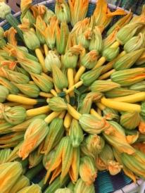 squash blossomes