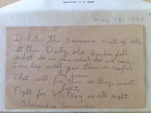 Alexandra Hammer, May 23rd, 1943